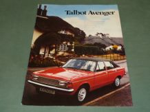 TALBOT AVENGER  (May 1981) Brochure